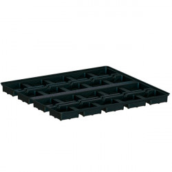 Tray Platinium Modular 100 , table de culture 20 pots de 18x18