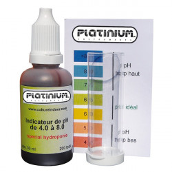 Platinium - Test Kit PH , testeur de ph 200 tests manuel avec indicateur couleur , hydroponie , piscine , aquarium