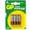 Pile LR3 Alkaline boite de 4