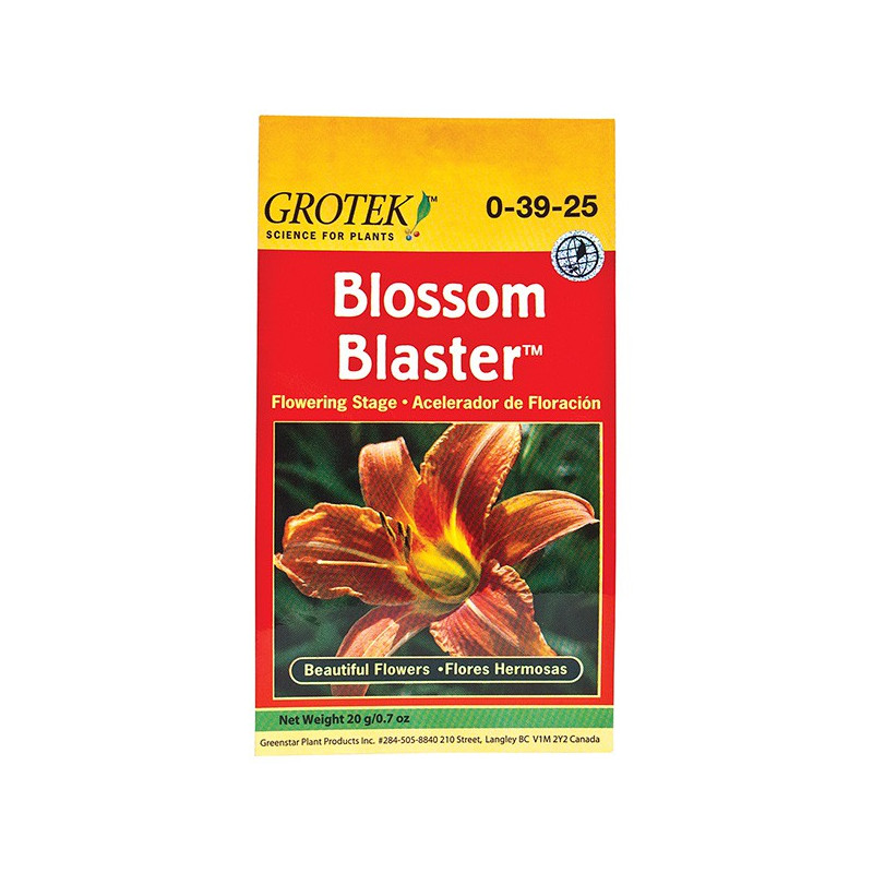 Grotek Blossom Blaster 20 g , booster de floraison en poudre