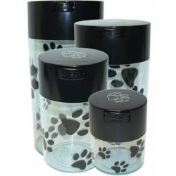 Tightpac - Boite 0.57 ltr - Conservation sous vide, pattes de chien - Transparent