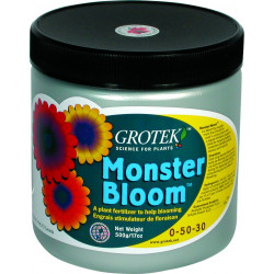 GROTEK MONSTER BLOOM 500G , booster pk floraison hydrosoluble