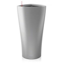 Pot Lechuzza delta prenium 30 argent , pot hydroponique , pot à réserve