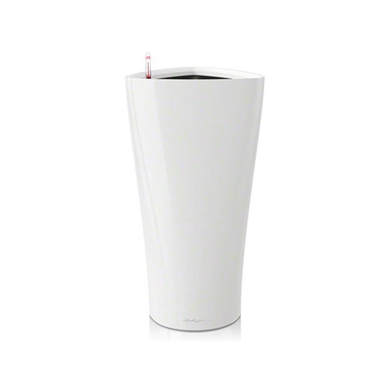 Pot Lechuzza delta prenium 30 blanc , pot hydroponique , pot à réserve