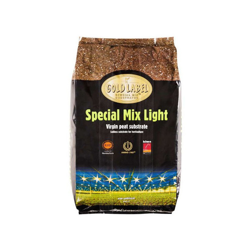 Gold Label Special Mix Light 40 L, terreau de croissance et floraison