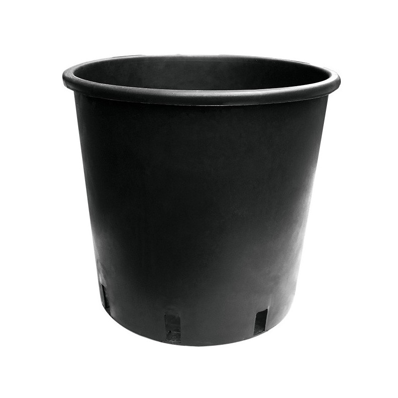 Pot 15L rond 28X28cm noir