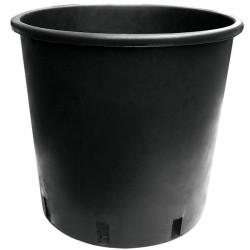 Pot rond noir rond 25L 35x28x30 cm