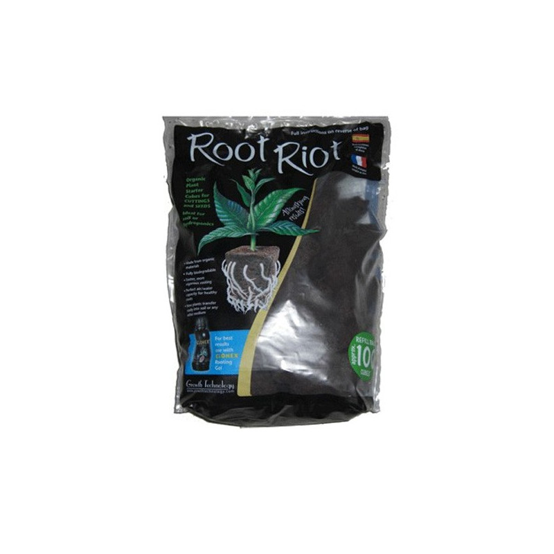 cubes de ROOT RIOT - Sachet 100 pcs , germination , bouturage