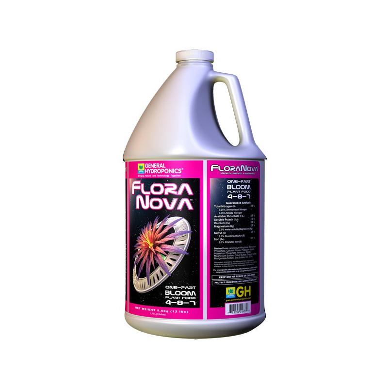 GHE Flora Nova Bloom 3.79L / 1 GALON , engrais de floraison , general hydroponics