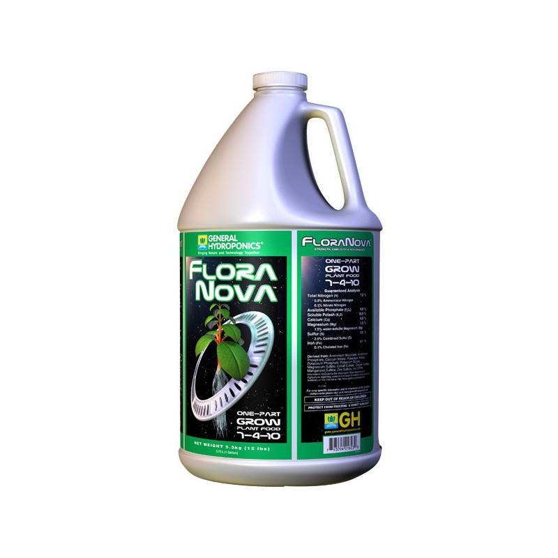 GHE Flora Nova Grow 3.79L / 1 GALON, engrais de croissance , general hydroponics