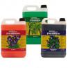 GHE - Pack engrais Flora Series 5L general hydroponics 3 composant