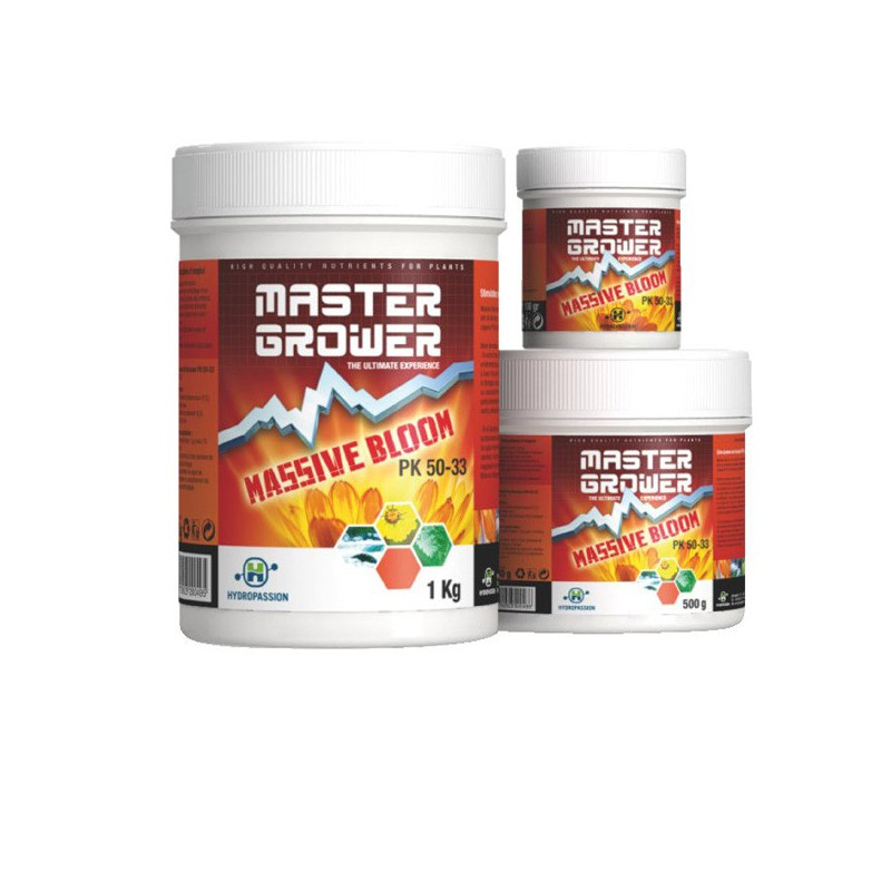 Hydropassion - Massive Bloom 500g , booster de floraison PK 52-34