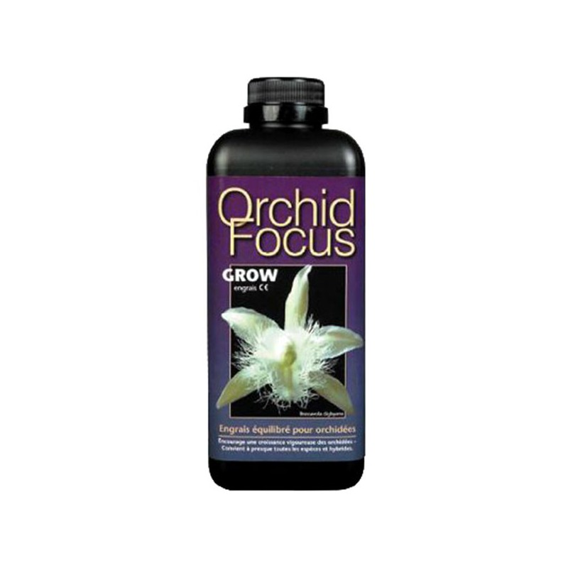engrais orchid focus grow 1l growth technology 9 90 culture indoor. Black Bedroom Furniture Sets. Home Design Ideas
