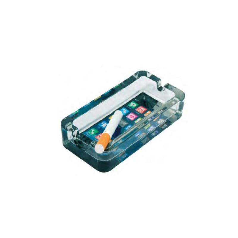 CENDRIER TYPE I-PHONE 11.4X5.8X2.5CM DL-6