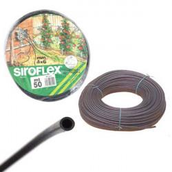 irrigation ,arrosage Siroflex tuyau 4/6mm rouleau de 50m