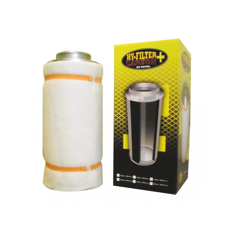 filtre à charbon actif , HY-FILTER +V2 CARBON 150mm 500M3/H