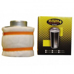 filtre à charbon actifs HY-FILTER + V2 CARBON 125mm 200M3/H