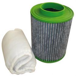 Green Filter - Pré-filtre CH09 (275m³/h) , Filtre à charbon actifs souple et léger