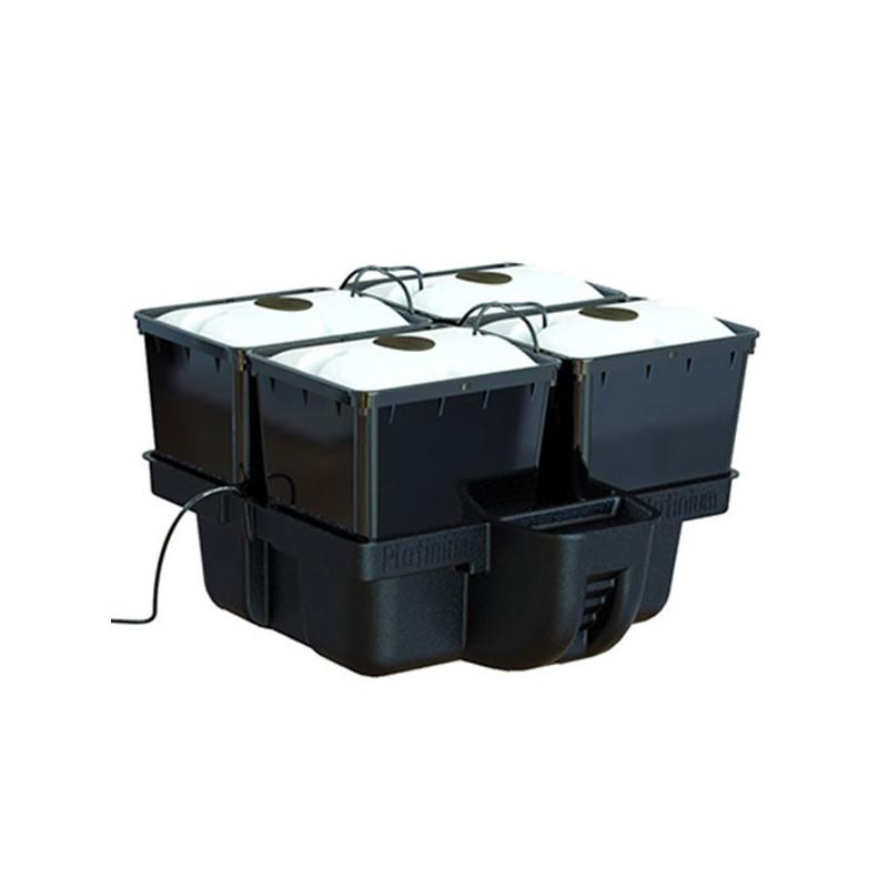 Platinium Hydroponics - AeroPro 60 (4 plantes) 60 x 60 x 38,5 cm , système aéroponique