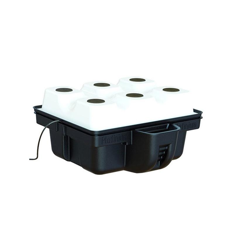 Platinium Hydroponics - AeroTop 60 (6 plantes) 60x60x31cm , système aéroponique