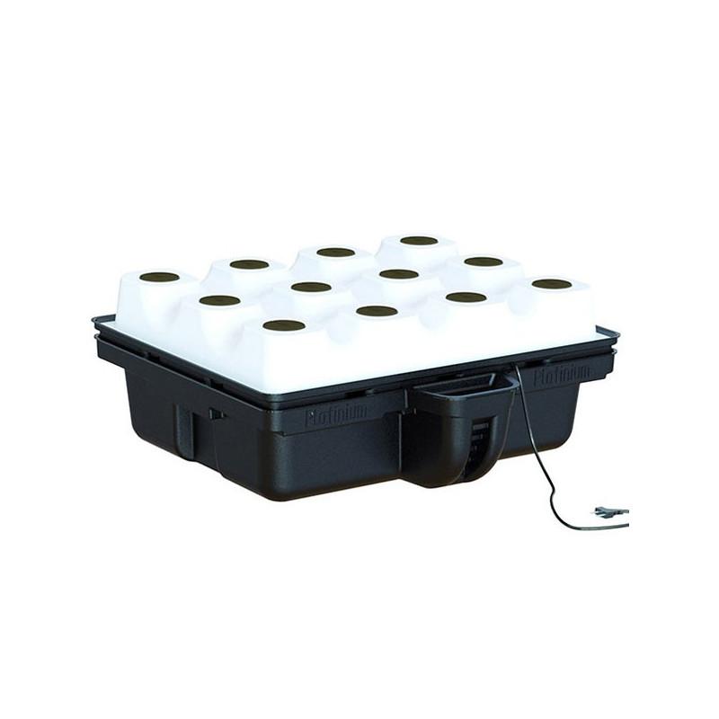 système aéroponique AeroTop 80 12 plantes (80x80x31cm) , platinium hydroponics