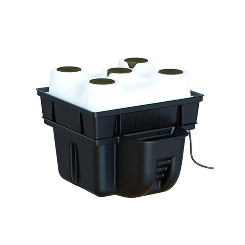 Platinium Hydroponics - Aerotop 40 1 à 5 plantes (40x40x31cm) , système aéroponique