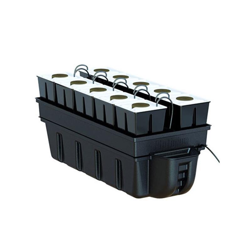 système aéroponique Platinium AeroStar 10 (90x40cm) 10 pots de 15x15cm