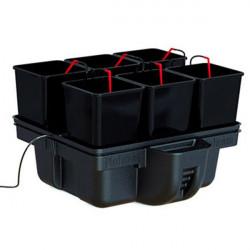 Platinium Hydroponics - HydroStar 60 6 pots 60 x 60 x 39,5 cm , système hydroponique