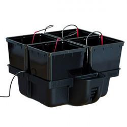 Platinium - HydroPro 4 pots bato 60 x 60 x 38,5cm , système hydroponique