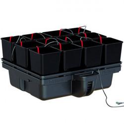 Platinium HydroStar 80 12 pots 80 x 80 x 39 cm , système hydroponique