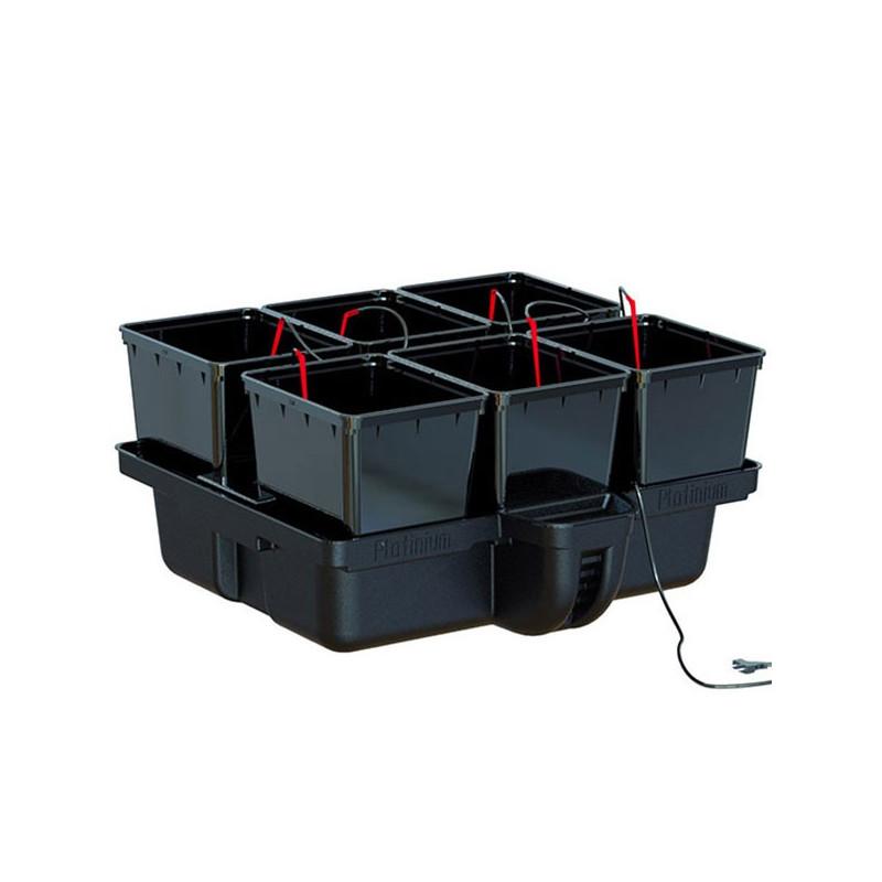 Platinium Hydropro 6 pots 80 x 80 x 38,5 cm , système hydroponique