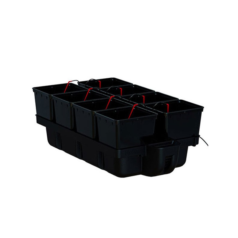 système hydroponique Platinium HydroPro 8 pots 110 x 60 x 38,5 cm ,