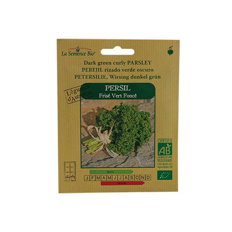 La Semence Bio - Persil frisé vert foncé