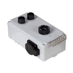 DAVIN DV11T Contrôleur Extracteur d'air avec Thermostat 6A