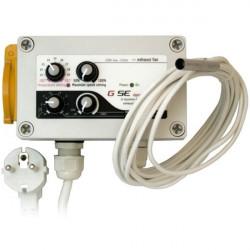 GSE Fan Contrôleur min-max HYSTERESIS pour 1 extracteur d'air (10A max)