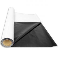 SuperPlant Bâche noire/blanche (épaisseur 85 mµ) 2 m x 1 m