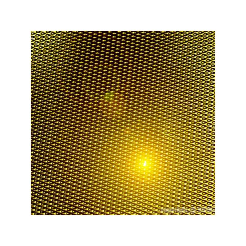 CIS MYLAR GOLD REFLECT 1.25M X 1M LINEAIRE ,papier réflechissant lumière