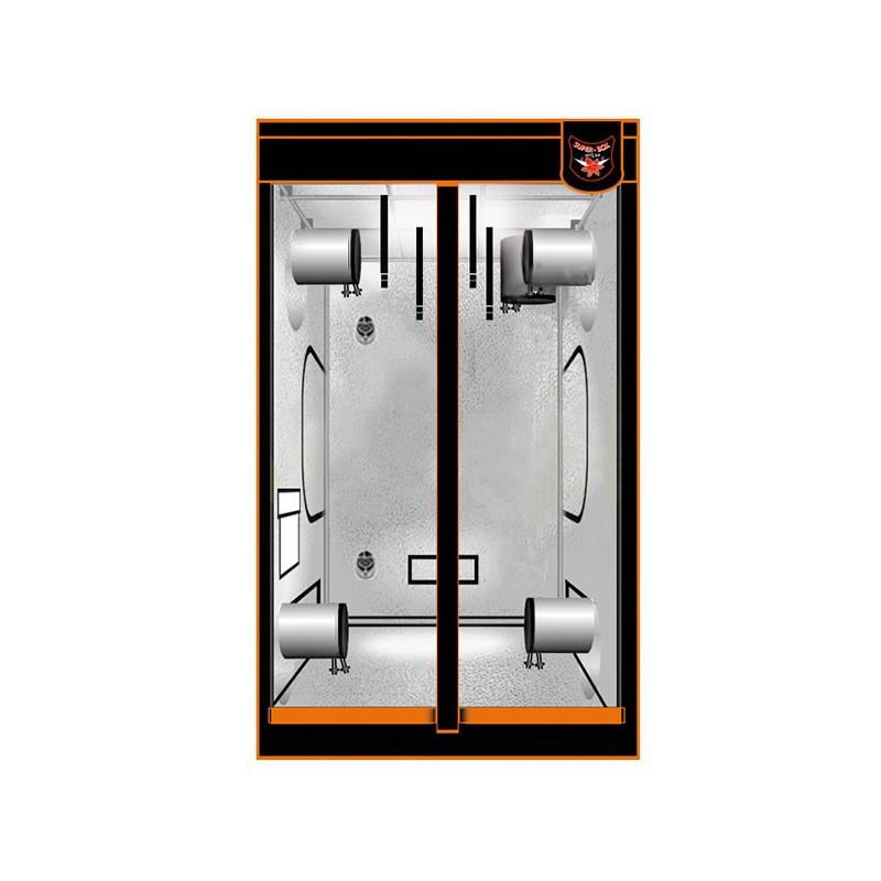 Superbox Chambre de Culture - Mylar 180V.2 - 100X100X180 cm , armoire de culture