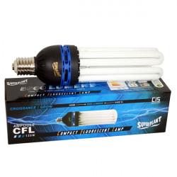 Superplant - Ampoule CFL 125W Croissance 6400K° V2 , lampe economique croissance ,E40