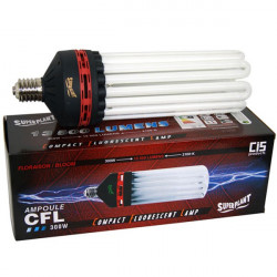 Superplant - Ampoule CFL 300W Floraison 2100K° V2 , lampe economique ,E40