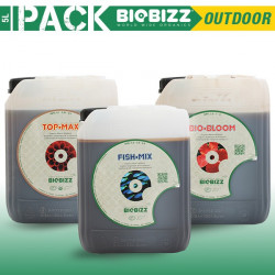 Biobizz - Spécial extérieur - 5L - Pack Engrais