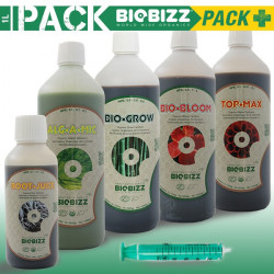 BIOBIZZ Engrais PACK PLUS 1L