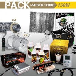 PACK culture en placard MASTER TERRE 250W