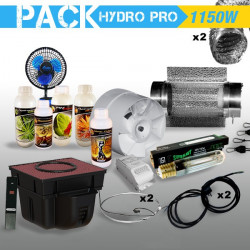 PACK culture indoor hydroponique HYDRO PRO 1 150W