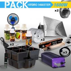 PACK culture indoor hydroponique HYDRO MASTER 1 600W